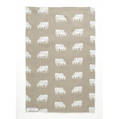 Dairy Cow Tea Towel
