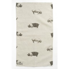 Saddleback Pig Tea Towel