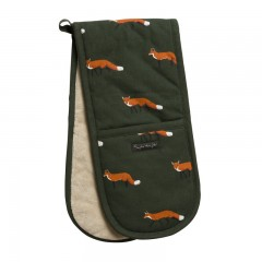 Foxes Double Oven Glove