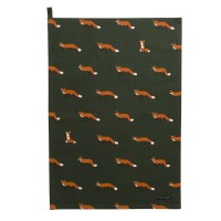 Foxes Tea Towel