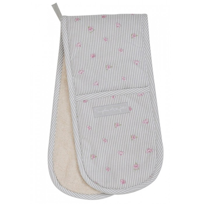 Rose Double Oven Glove