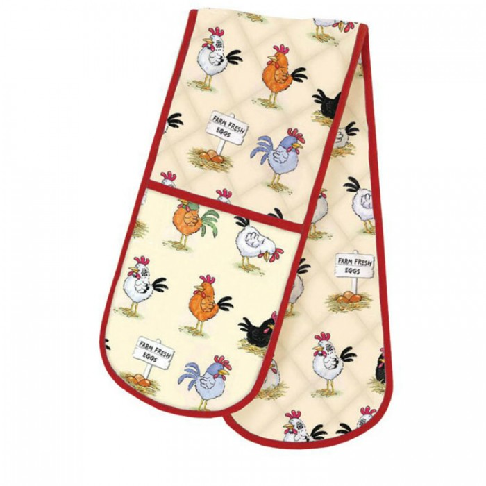 Chickens Oven Gloves