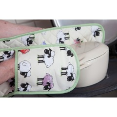 Sheepish Oven Gloves