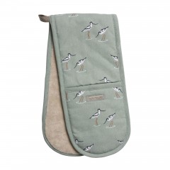 Coastal Birds Double Oven Gloves (Avocet)