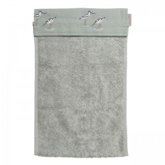 Coastal Birds Roller Hand Towel (Avocet)