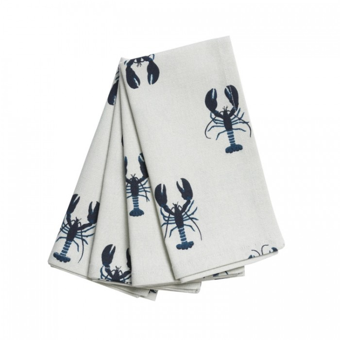 Lobster Napkins (set of 4)