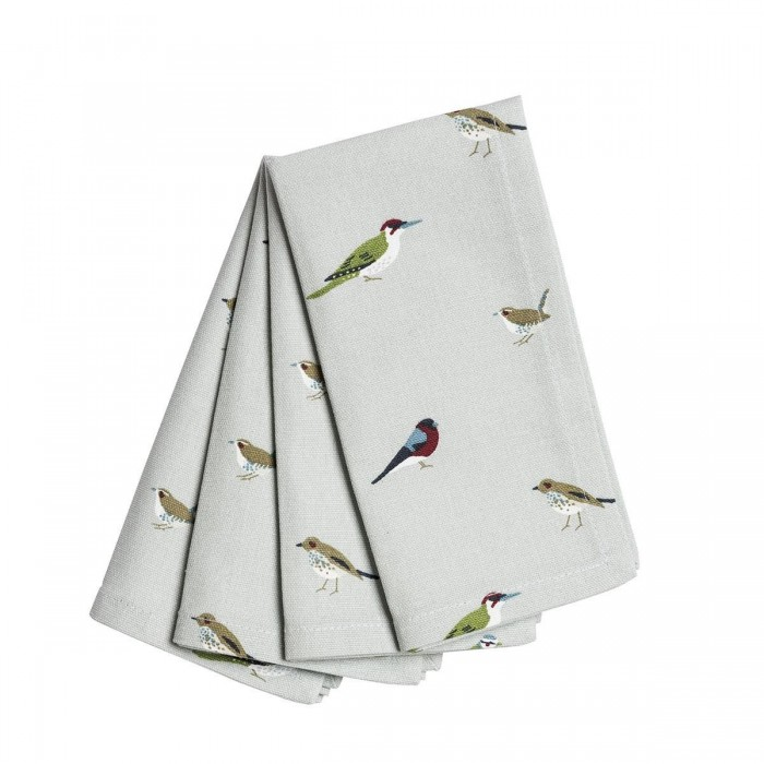 Garden Birds Napkins (Set Of 4)
