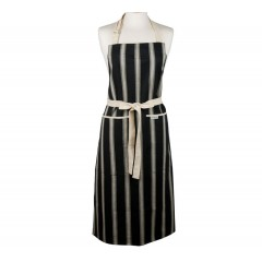 Mercara Striped Cooking Apron