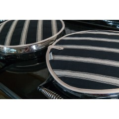 Fair Trade Mercara Stripe Hob Cover