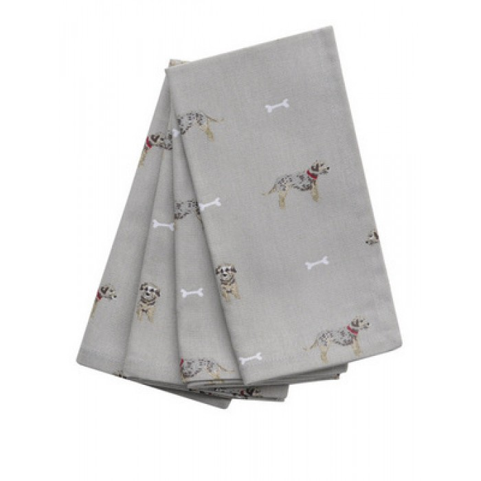 Terrier Napkin - Set of Four Napkins