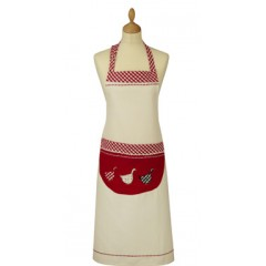 Gingham Goose Adult Apron