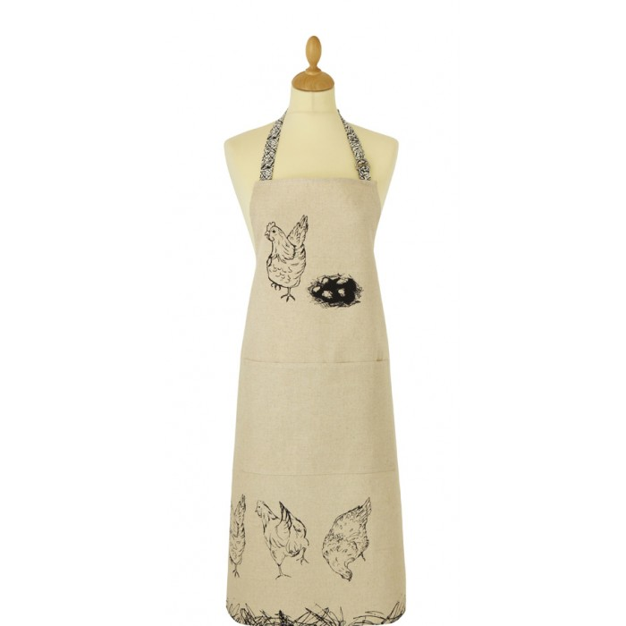 Ulster Weavers Chickens Adult Apron 'free range'