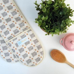 Beehive Double Oven Gloves