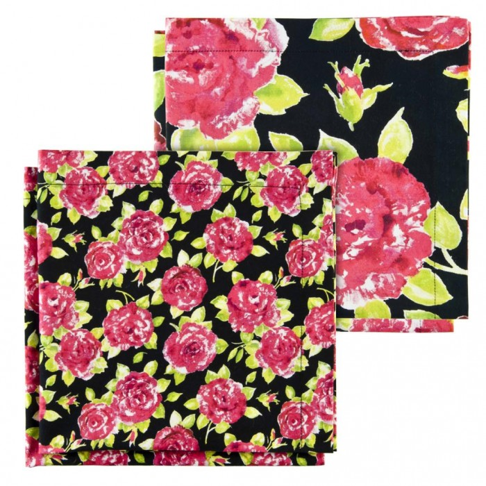 Bold Flower Design Napkins