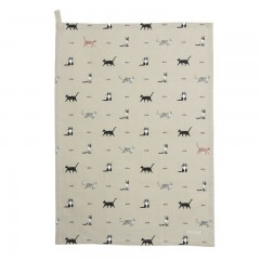 """Purrfect!"" Cats Tea Towel"
