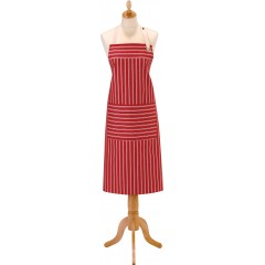 Chambray Stripes Cotton Kitchen Cooking Apron