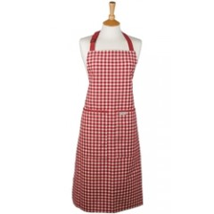 Fair Trade Check Kitchen Cook's Apron