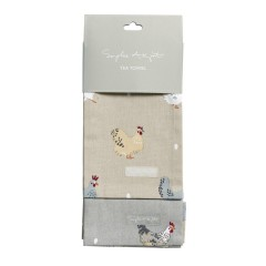 Chickens & Lay a Little Egg Tea Towel - Set of Two