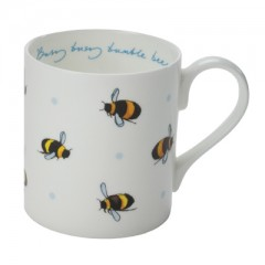 Busy Bees White China Mug