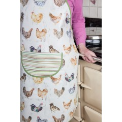 Oil Cloth Cooking Apron (choose from Dogs or Chickens)