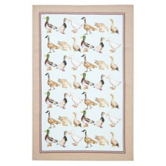 Ducks Linen Tea Towel