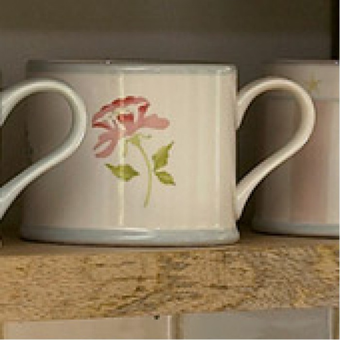 Susie Watson Rose Design Mug (2 shapes)