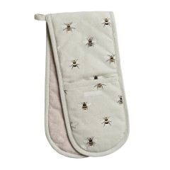 Bees Double Oven Glove