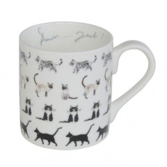 Cats Purfect China Mug