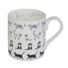 Cats Purfect China Mug