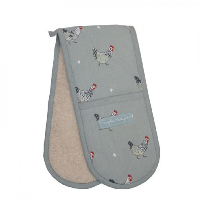 Chickens Double Oven Glove