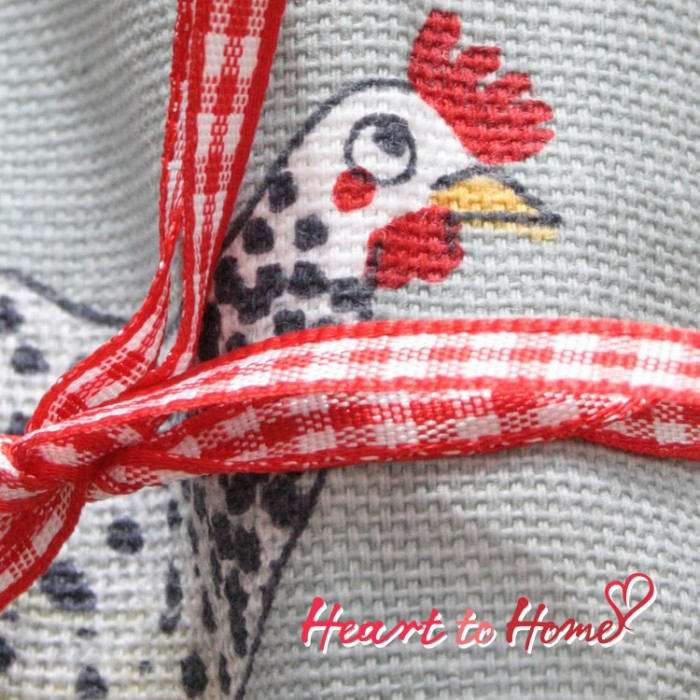 Chickens Napkins (set of 4)