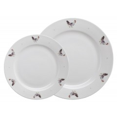 'Lay a little egg for me' Chickens Plate