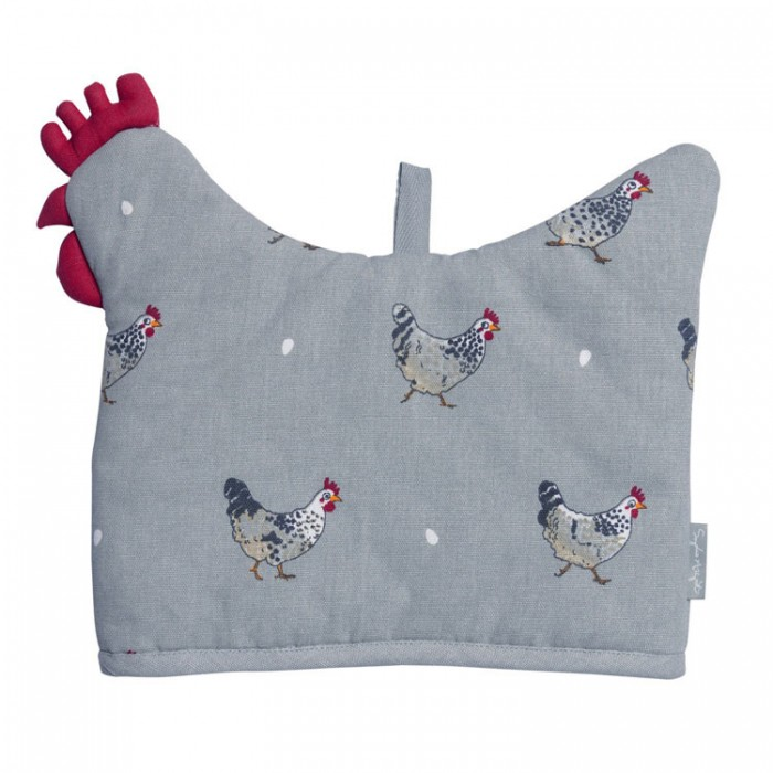 Chicken-Shaped Tea Cosy