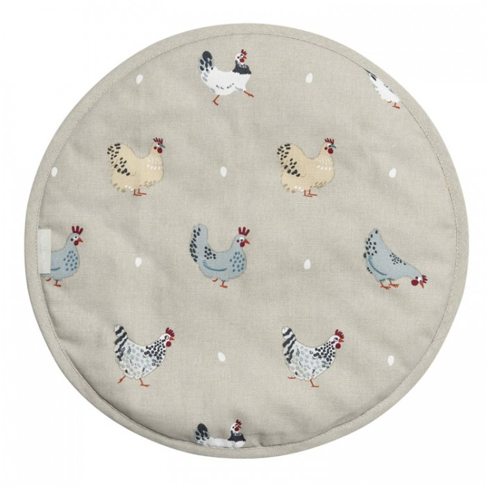 Chickens Lay a Little Egg Hen Hob Cover