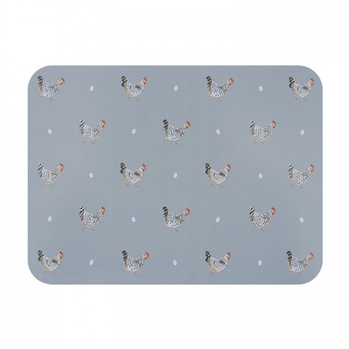 Chickens Placemats (Set of Four)