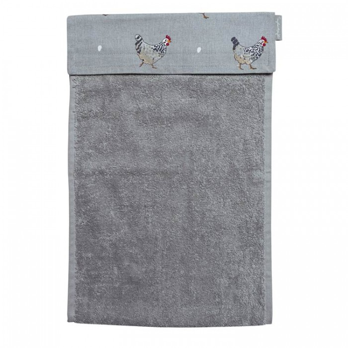Chickens Roller Hand Towel