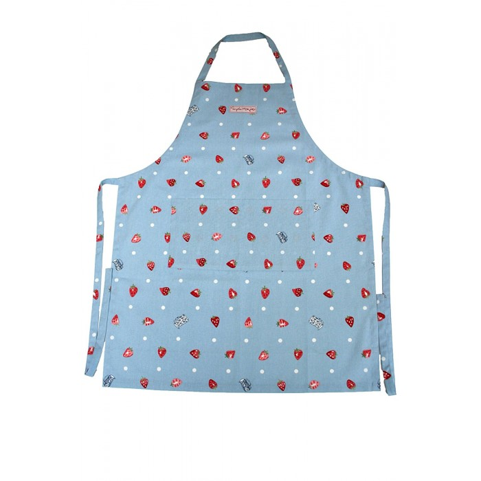 Strawberries & Cream Adult Cooking Apron