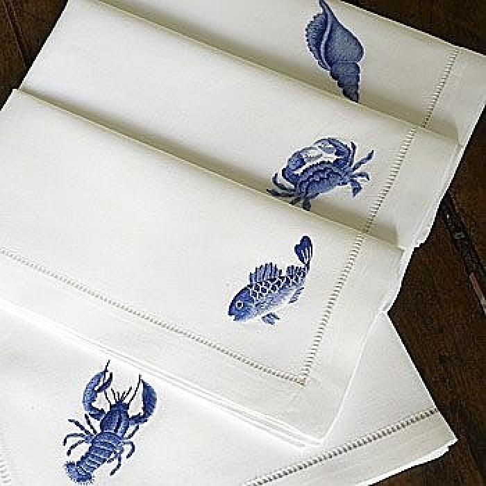 Marina Blue  Napkin