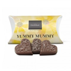 Free Hotel Chocolat 'Yummy Mummy' Mother's Day Heart Milk Chocolates