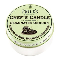 Chef's Candle Tin