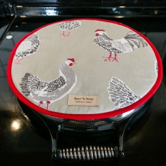 Roosters Hob Cover