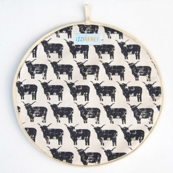 Highland Cow Hob Cover