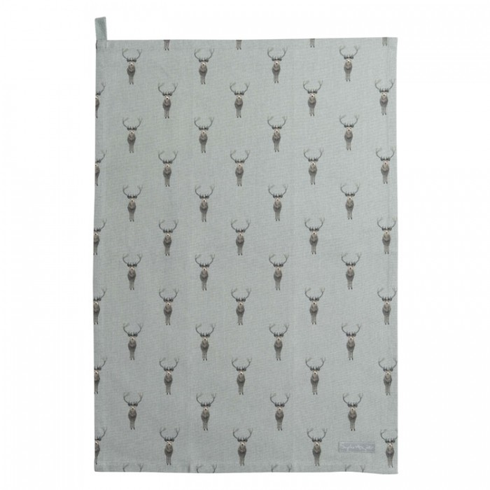 Highland Stag Tea Towel