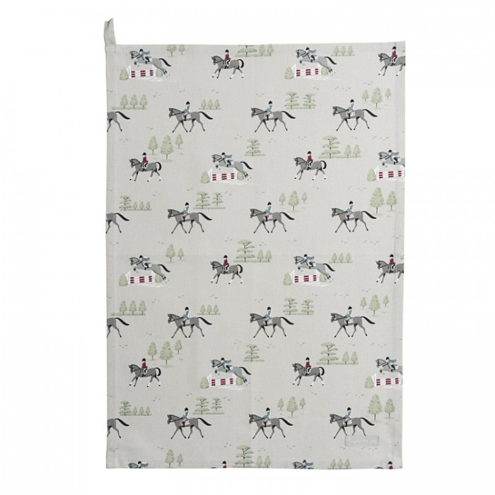Horses Tea Towel