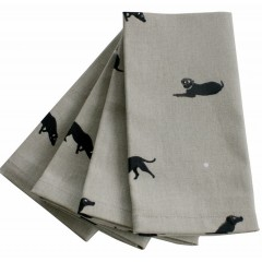 Labrador Napkins (Set of Four)