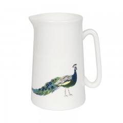 Peacocks Medium Jug