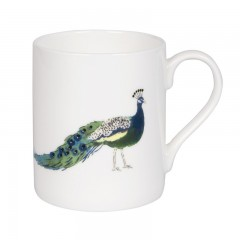 Peacocks Solo Mug