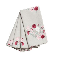 Sophie Allport Peony Napkins - Set of Four