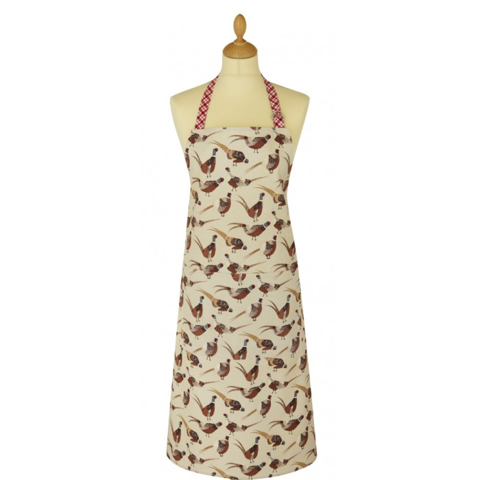Ulster Weavers Pheasants Adult Cooking Apron