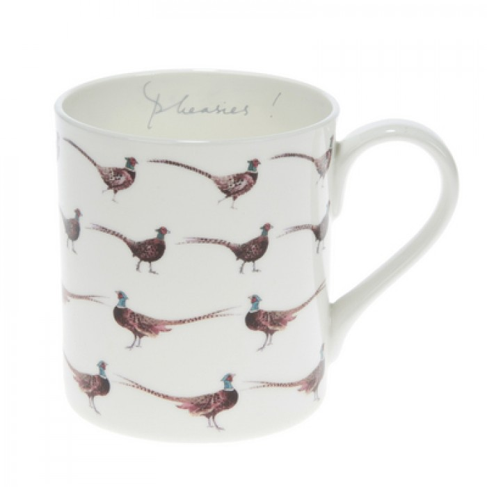 'Pheasies' China Mug